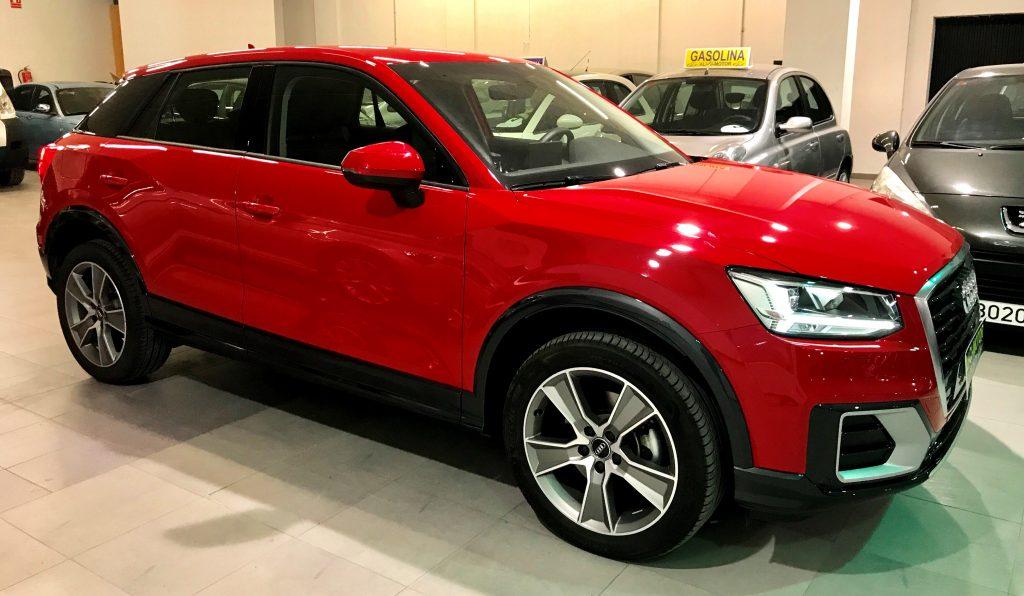 Imagen del Audi Q2 de AliCi Motor Cieza, en Murcia.