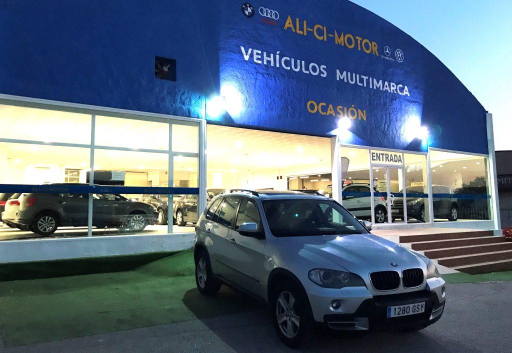 Imagen de portada del coche BMW X5 de Ali Ci Motor Cieza, Murcia.