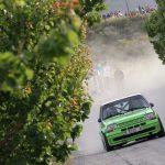 Foto del rally paraiso termal de Archena, Copa Renault Turbo.