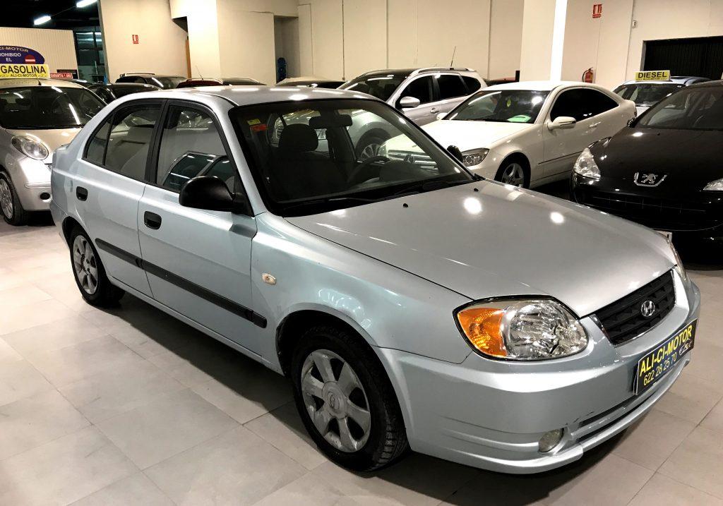 Imagen del coche Hyundai Accent económico de Ali Ci Motor Cieza, Murcia.