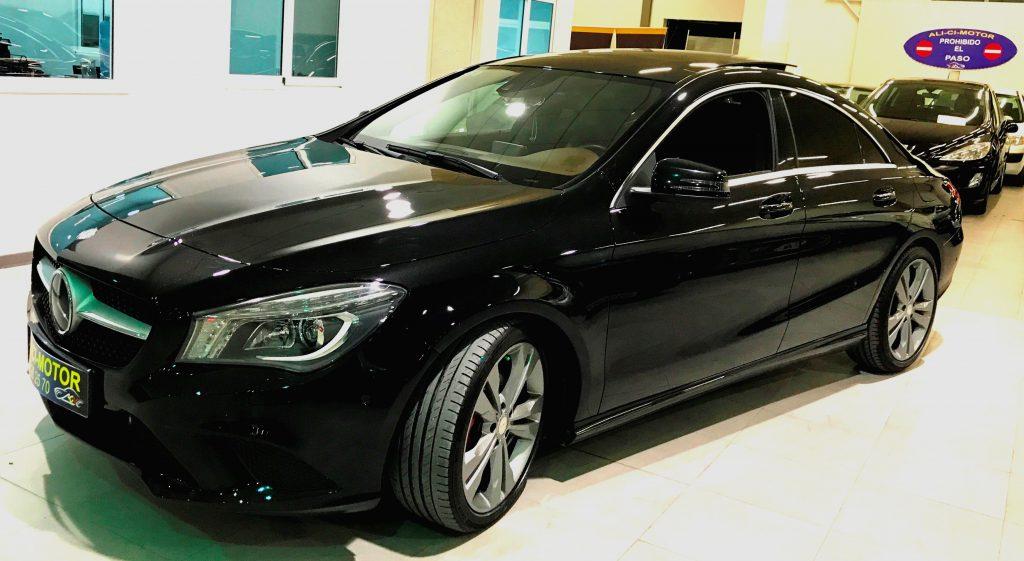 Coche Mercedes CLA de AliCi Motor Cieza, Murcia.