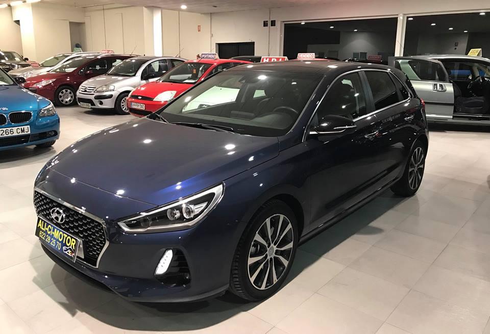 Imágenes del coche Hyundai i30 de Ali Ci Motor Cieza, Murcia.